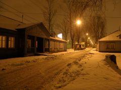Osiedle Przyjazn, campus by night by <b>Hiup (Hubert)</b> ( a Panoramio image )