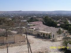 View on Hargeisa from the roof by <b>Rita Izsak</b> ( a Panoramio image )