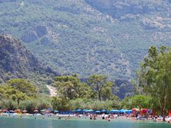 Oludeniz beach from water bicycle by <b>majasa</b> ( a Panoramio image )