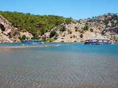 Dalyan mouth by <b>majasa</b> ( a Panoramio image )