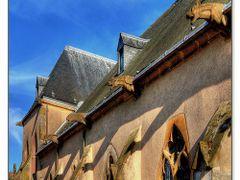 Gargouilles Eglise Morhange by <b>pastelle</b> ( a Panoramio image )