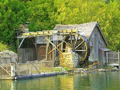 "Mill ,Tom Sawyer""s Island, Disneyland CA by <b>Tom Troxel</b> ( a Panoramio image )"