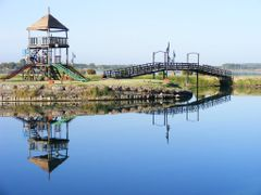 Summer morning reflection by <b>Ale Fernandez Deanna</b> ( a Panoramio image )