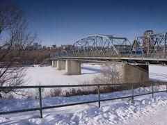 Dawson Bridge by <b>Kent Martens</b> ( a Panoramio image )