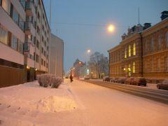 Raastuvankatu street by <b>Bertil Berg</b> ( a Panoramio image )