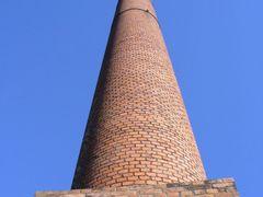 chimenea de horno en ex fabrica de ladrillos Ctibor by <b>nestor_lp</b> ( a Panoramio image )