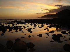 Atradecer en El Zunzal by <b>Wilber Calderon - El Salvador</b> ( a Panoramio image )