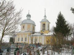 Сергово; Лазаревская церковь by <b>Paul  the Pilgrim</b> ( a Panoramio image )