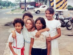 Ninas de Managua, 1987 by <b>kino_pur</b> ( a Panoramio image )