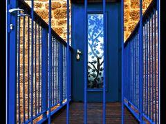 #39 - Double Blue (door in Old Jaffa, Israel) by <b>Jurgis Karnavicius</b> ( a Panoramio image )