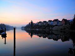 Wenn der Tag erwacht. Bei Schaffhausen by <b>hufiz</b> ( a Panoramio image )