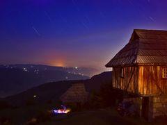 sopotnica-night by <b>goranikon</b> ( a Panoramio image )