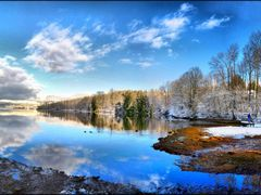 The Inlet Trail at Winter by <b>Gabor Retei</b> ( a Panoramio image )