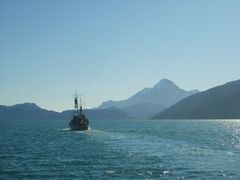Inspectionvessel in Arsuk Fiord by <b>leif petersson</b> ( a Panoramio image )