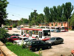 Trolleybus depot #1 by <b>Utkin Mikhail</b> ( a Panoramio image )