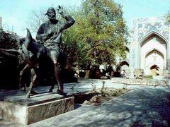 1985.04. - Buhara, Naszredin Hodzsa-monument by <b>Farsang Peter</b> ( a Panoramio image )
