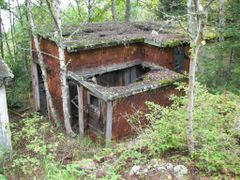 Part of the old ghost town, Jackfish Ontario by <b>Matt B Borutski</b> ( a Panoramio image )