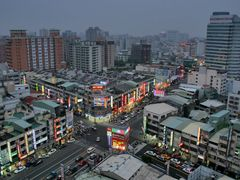 Blue Hour in Taichung by <b>boerx</b> ( a Panoramio image )