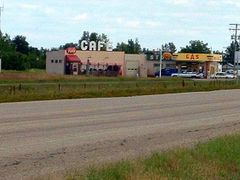 Shhhhhhhh!  The Camera is Rolling in Dog River (Rouleau), Saskat by <b>Lilypon</b> ( a Panoramio image )