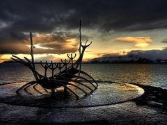 Solfari?  - The Sun Voyager by <b>Sig Holm</b> ( a Panoramio image )