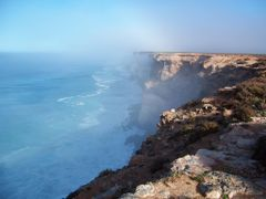 Nullarbor Cliffs   by <b>KenStumich</b> ( a Panoramio image )