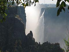 Африка, Замбия, водопад Виктория by <b>Alevikon</b> ( a Panoramio image )
