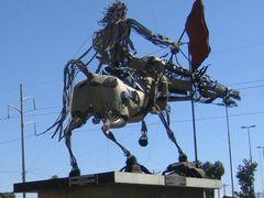 Monumento a Juana Azurduy by <b>Hugo Eduardo Balcazar Rodal</b> ( a Panoramio image )