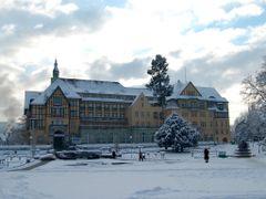Sanatorium Polonia w Kudowie - Zima 2009 by <b>romulus111</b> ( a Panoramio image )
