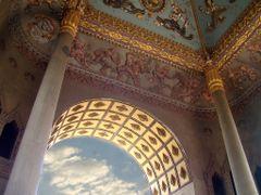 Ceiling Patuxai by <b>Frank Knaap</b> ( a Panoramio image )