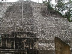 Structure I, Calakmul by <b>Jesus Wong</b> ( a Panoramio image )