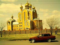 Храм,г.Экибастуз by <b>viktoral59</b> ( a Panoramio image )