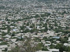 Osh, view from Suleyman hill, minaret by <b>igor_alay_2</b> ( a Panoramio image )