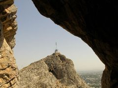 Osh, Suleyman hill, cave by <b>igor_alay_2</b> ( a Panoramio image )