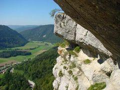 Via Ferrata Noiraigue (NE) by <b>Caspar Bichsel</b> ( a Panoramio image )