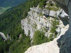 Via Ferrata Noiraigue by <b>Caspar Bichsel</b> ( a Panoramio image )