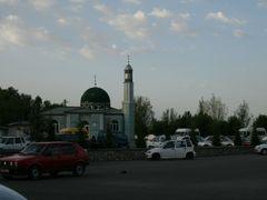 Osh, mosque near airport by <b>igor_alay_2</b> ( a Panoramio image )
