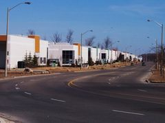 Mississauga - Industrial buildings on Argentia Road by <b>stabins</b> ( a Panoramio image )