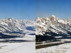 Grand Teton Aerial 3D by <b>kamalyn-3D</b> ( a Panoramio image )