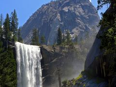 Vernal Fall Yosemite July 2005 (2) by <b>SEIMA</b> ( a Panoramio image )