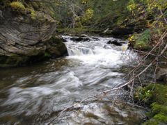 Precipice of Bergeron Falls by <b>joelplane</b> ( a Panoramio image )