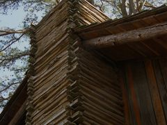Wood chimney by <b>Marilyn Whiteley</b> ( a Panoramio image )