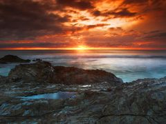 Currumbin Rock  by <b>Nixpix</b> ( a Panoramio image )