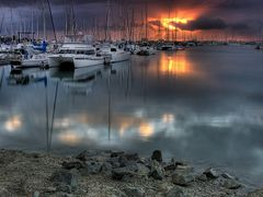 Manly Harbour by <b>Nixpix</b> ( a Panoramio image )