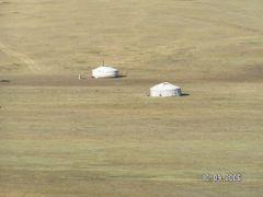 Gers desert de Gobi Mongolie by <b>Lydie STUELSATZ-DERBEZ</b> ( a Panoramio image )