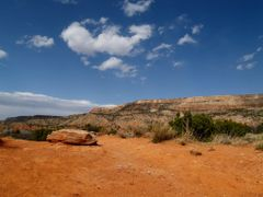 Palo Duro Canyon NP, TX by <b>ArdenZ</b> ( a Panoramio image )
