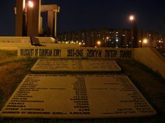 Holocaust memorial by night, Rishon Lezion by <b>Sparkhunter</b> ( a Panoramio image )