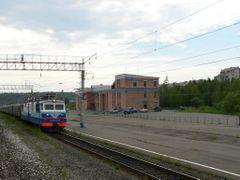Станция Киренга (Магистральный) by <b>zapsib</b> ( a Panoramio image )