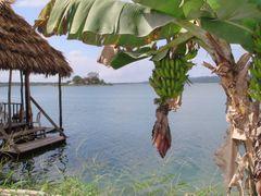 Vista del Lago Peten desde La Isla Flores by <b>fchoza</b> ( a Panoramio image )