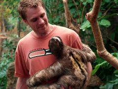 Dallas World Aquarium / Leno the Costa Rican Sloth / Olympus Evo by <b>dallas1959</b> ( a Panoramio image )