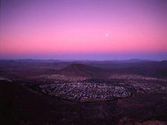 Moonrise over Graaff-Reinet by <b>Graham Hobbs</b> ( a Panoramio image )